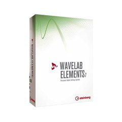 Программное обеспечение Steinberg Wavelab Elements 7 Retail-